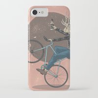 jackalope iPhone & iPod Cases featuring Jackalope by Kelli Shaver