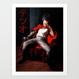 Tetsuo Throne Art Print