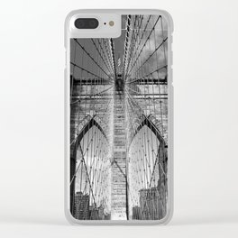 Brooklyn Bridge New York City Clear iPhone Case