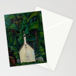Emily Carr Indian Church Stationery Cards