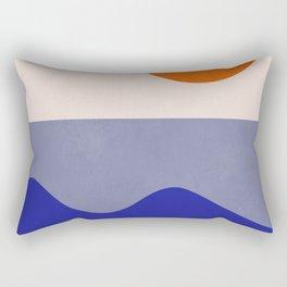abstract minimal 50 Rectangular Pillow