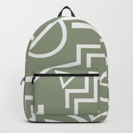 Shapes- lost and found Backpack