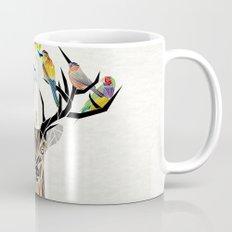 deer birds Mug