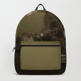 Willem Claesz Heda - Still Life with gilt Beer Tankard Backpack