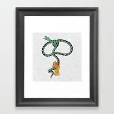 Lassssso Framed Art Print