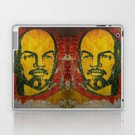 Goodbye Lenin fresco in the ex Soviet military base in Latvia  Laptop & iPad Skin