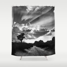 Joshua Tree, Illuminated. Shower Curtain