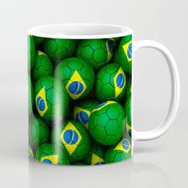 BRAZIL FOOTBALLS Coffee Mug