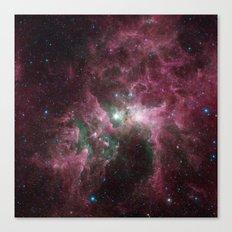 The Tortured Clouds of Eta Carinae Canvas Print