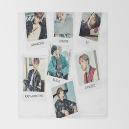 BTS You Never Walk Alone Throw Blanket