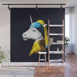 Cool Animal Art - Funny Unicorn Wall Mural