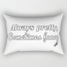 Sometimes Fancy Rectangular Pillow