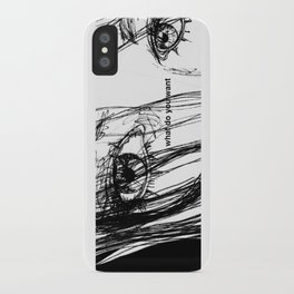 WHAT DO YOU WANT iPhone Case