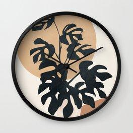 Minimal Pot Life II Wall Clock