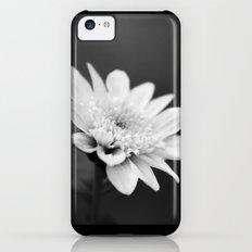 Black and White Flower iPhone 5c Slim Case