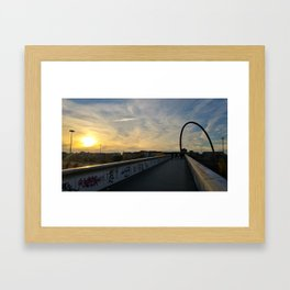 Turin Arc Framed Art Print