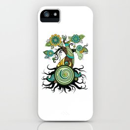 Henna Tree iPhone Case