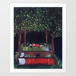 Once Upon a Reverie Art Print