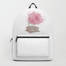 Rose Gramophone Backpack