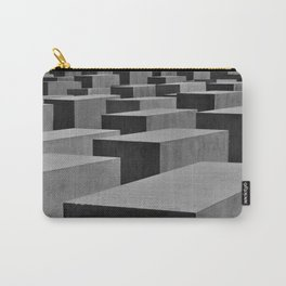 We can't and we won't forget - Memorial of the war in Berlin  Carry-All Pouch