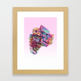 BISMUTH Framed Art Print