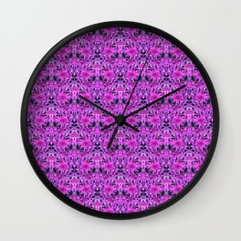 Fuchsia Forever Extra Small Wall Clock