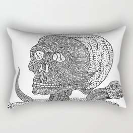 Skull & Snake Rectangular Pillow