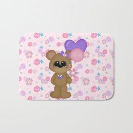 Mommy Bear Loves his Mommy Bath Mat