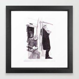 Men of Mystery Framed Art Print