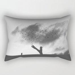 embrace the struggle Rectangular Pillow