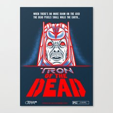 Tron of the dead CLEAN Canvas Print