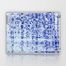 Abstract Architecture Blue Laptop & iPad Skin