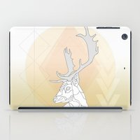 antlers iPad Cases featuring Antlers by Heidi Banford