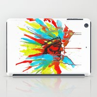 native american iPad Cases featuring Native American by ART HOLES
