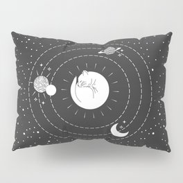 The Space Cat Pillow Sham