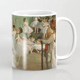 "Edgar Degas ""The dance class"" Coffee Mug"