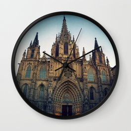 Barcelona Cathedral Wall Clock