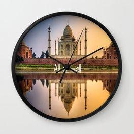 all izz well india Wall Clock