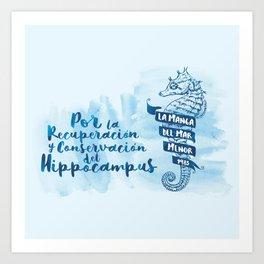 Hippocampus I Art Print