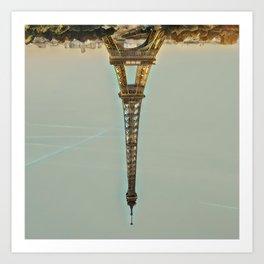 Upside. Art Print