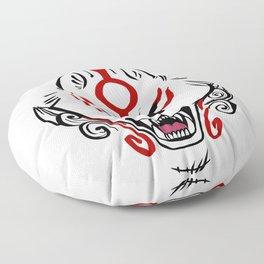 Okami Amaterasu (White Paint) Floor Pillow