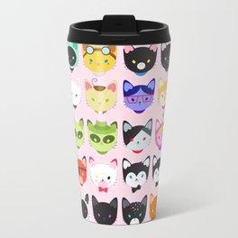Love character cats Travel Mug
