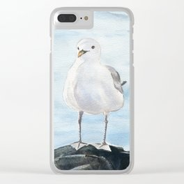 Seagull 2 Clear iPhone Case