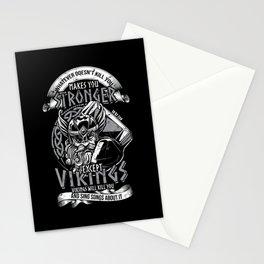 Vikings Viking Nordic Odin Thor Stationery Cards