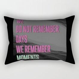 Remember moments Rectangular Pillow