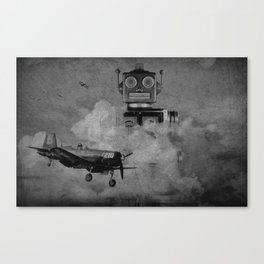 Rob-zilla Canvas Print