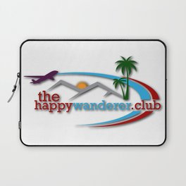 The Happy Wanderer Club Laptop Sleeve