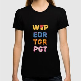 Winnie Pooh & Pals Characterful Typography T-shirt