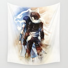 Squall and Rinoa - Griever Wall Tapestry