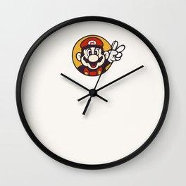 Mario Peace Wall Clock